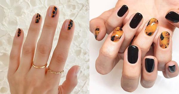 Tortoiseshell Nail Art Trend & Manicure Inspiration | ELLE Australia