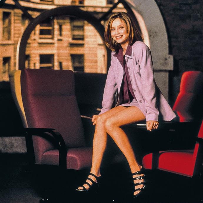 **Ally McBeal from** ***Ally McBeal***<br><br>  **Lesson:** Suiting with a twist <br><br>