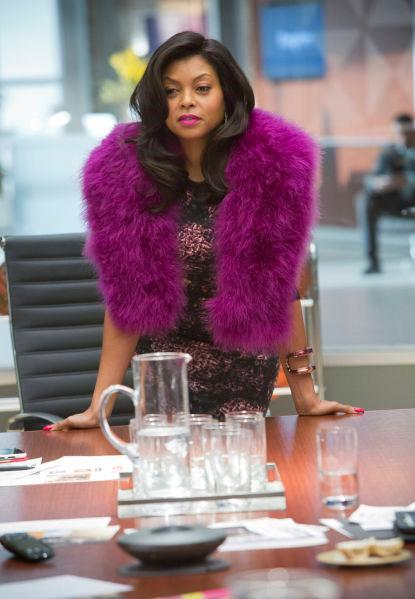 "**Cookie Lyon from** ***Empire***<br><br>  **Lesson:** Go big or go home<br><br>  If Cookie Lyon's work wardrobe could talk, it would probably say ""Get out of my boardroom"". Built around staples like faux furs, body-con dresses and metallic suiting, Cookie's style might not be subtle but it does speak to her confidence and remind us that sometimes, adding one ""out there"" item can go a long way. If you prefer not to go the whole nine yards à la Cookie, something as simple as a matte gold blazer pared back with black palazzo pants or a snakeskin print dress in soft, neutral hues, will do the trick."