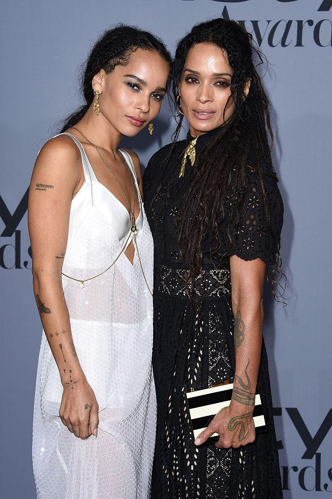 With her mother, actress Lisa Bonet, in 2015.