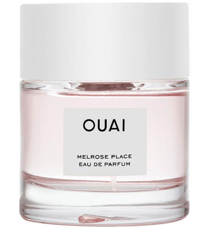 """**'Melrose Place' EDP by OUAI (Jen Atkin)** <br><br> Hairstylist [Jen Atkin](https://www.elle.com.au/beauty/jen-atkins-the-ouai-smoothing-hair-spray-13960