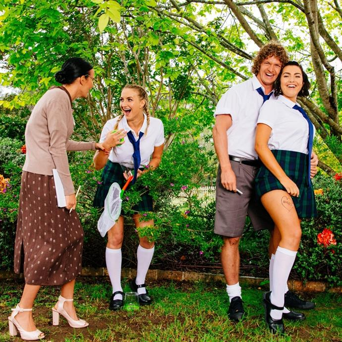 **6. The 'Education-Themed Photo Shoot' in Nick Cummins' season of** ***The Bachelor*** **Australia**<br><br>  Ah, the classic photo-shoot group date! Arguably one of the worst in the franchise's history, Bachie Nick Cummins' apparently chose 'education' as the theme for one of his photo shoots, which subsequently involved having contestants dress up like naughty school girls and teachers. Cue: collective cringing across the country.