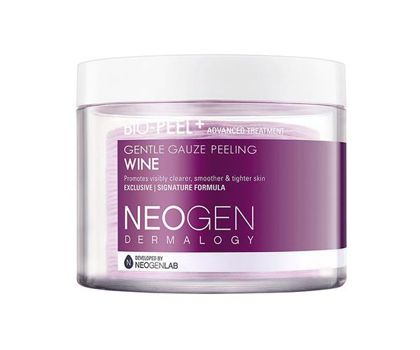 """**Bio-Peel Gauze Peeling Wine, $43, Neogen at [Myer](https://www.myer.com.au/p/neogen-gauze-peling-pad-wine-200ml