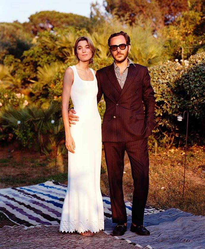 "**Lolita Jacobs** <br><br> Lolita Jacobs wore an Azzedine Alaïa shirt to her wedding in June 2018, and later wore a streamlined gown by the iconic Tunisian-French designer for her wedding reception in the South of France. <br><br> *Image: Instagram [@loljacobs](https://www.instagram.com/loljacobs/|target=""_blank""