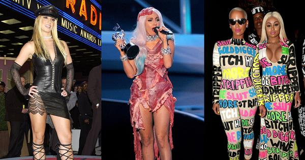 24 Of Most Controversial MTV VMAS Red Carpet Looks Of All Time | ELLE Australia