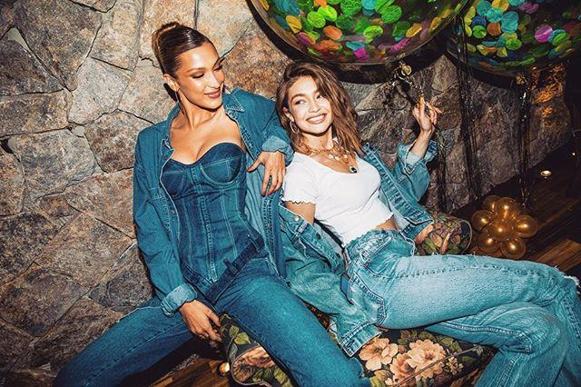 "With her younger sister, Bella Hadid, at her 24th birthday party in April 2019. <br><br> *Image: Instagram [@gigihadid](https://www.instagram.com/p/BwqWAU8HYa7/|target=""_blank""