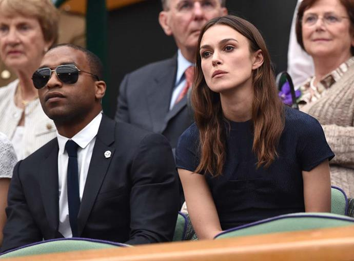 Chiwetel Ejiofor and Keira Knightley.