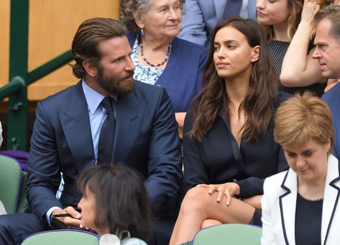 Bradley Cooper and Irina Shayk.