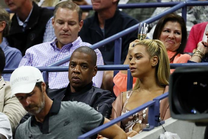 Jay-Z and Beyoncé.