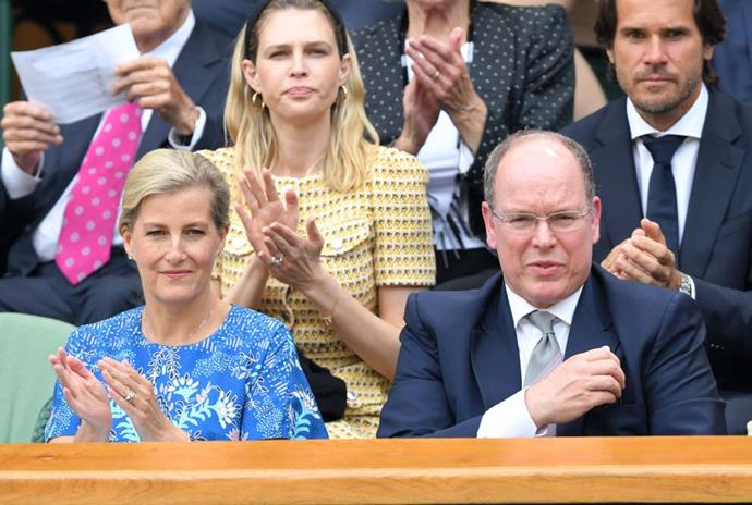 Sophie, Countess of Wessex, and Prince Albert of Monaco.