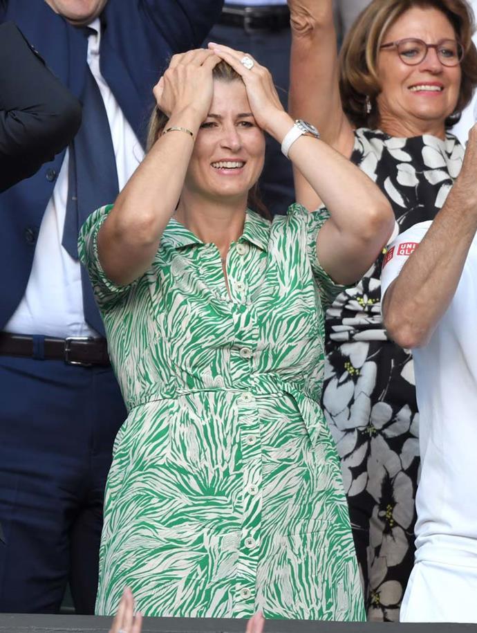 Mirka Federer.