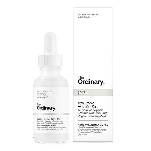 "**Hyaluronic acid** <br><br> After discovering the (relatively affordable) magic of hyaluronic acid, our skincare routines immediately changed forever. <br><br>  Introduced to us by brands like The Ordinary, using hyaluronic acid as an exfoliant avoids the damaging granules featured in many exfoliating scrubs, and has since become a staple product in the beauty world. <br><br> *Hyaluronic acid serum by The Ordinary, $12.90 at [ADOREBEAUTY](https://www.adorebeauty.com.au/the-ordinary/the-ordinary-hyaluronic-acid-2-b5-30ml.html|target=""_blank""