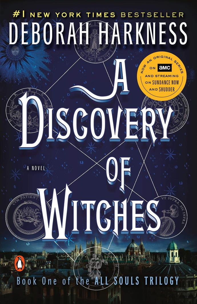 """***A Discovery Of Witches* by Deborah Harkness** <br><br> Now a successful [television series](https://www.elle.com.au/culture/a-discovery-of-witches-season-2-australia-20595