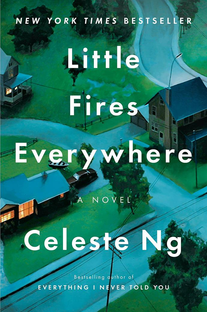 """***Little Fires Everywhere* by Celeste Ng** <br><br> This '90s-set novel opens with a suspected arson attack and then goes back to reflect on the events that transpired in the lead-up to the dramatic scene. As it unfolds, we learn the story of two very different families who are thrown together in unexpected circumstances, before being pitted against each other amid a custody battle over a Chinese–American baby in which both groups have vested interests. The novel takes place in the author's hometown and is a fascinating examination of race, identity and family politics. In case you needed more convincing, it's also been adapted for a mini-series in the U.S. starring Kerry Washington and Reese Witherspoon in the lead roles.  <br><br> Buy it [here](https://www.readings.com.au/review/little-fires-everywhere-by-celeste-ng
