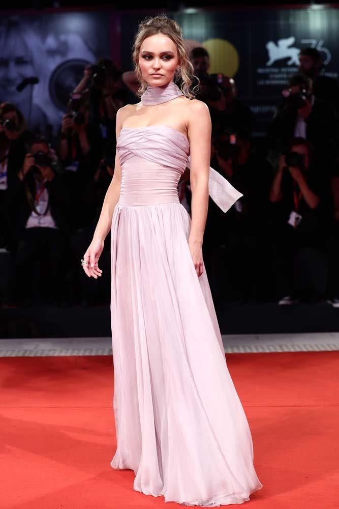 Lily-Rose Depp.