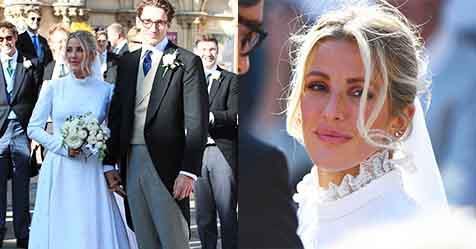 Ellie Goulding Wore Not Two, Not Three But Four Wedding Dresses | ELLE Australia