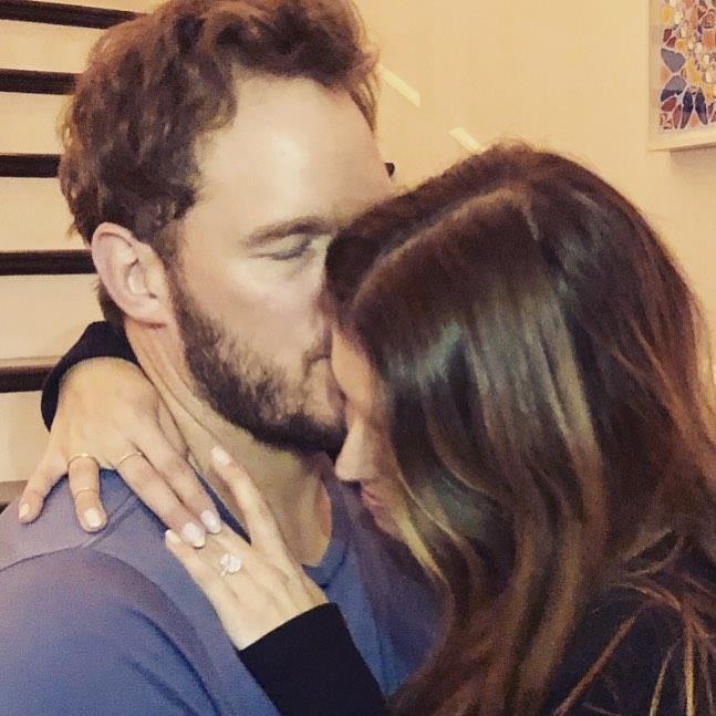 "**Chris Pratt and Katherine Schwarzenegger**<br><br>  Not only did Chris Pratt and Katherine Schwarzenegger get engaged this year, they got [married](https://www.elle.com.au/celebrity/chris-pratt-katherine-schwarzenegger-married-20668|target=""_blank"") as well!<br><br>  *Image via [@prattprattpratt](https://www.instagram.com/p/Bsmy0gUFIt7/|target=""_blank""|rel=""nofollow"")*"