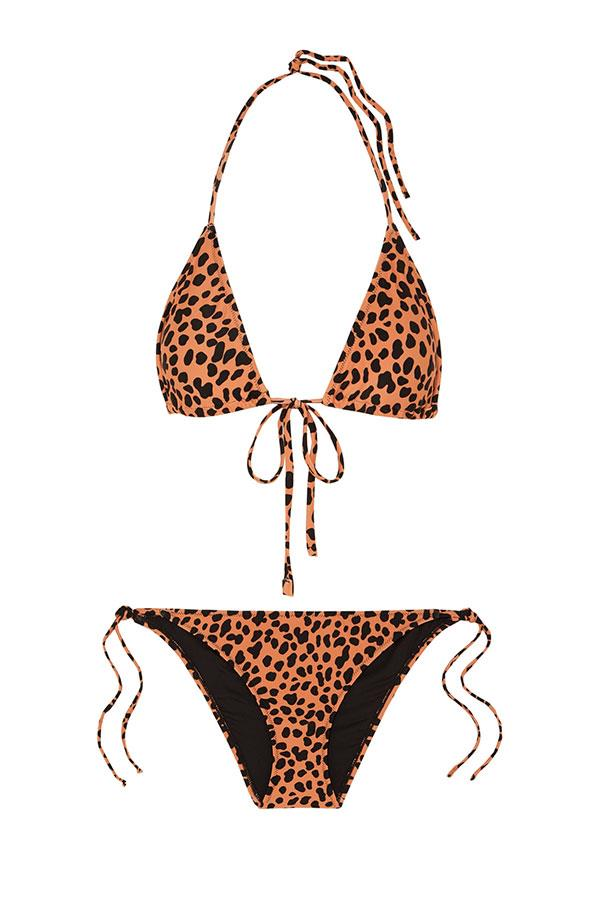 "Bikini by Rixo, $166 at [Net-a-Porter](https://www.net-a-porter.com/au/en/product/1164996/rixo/lucia-leopard-print-triangle-bikini|target=""_blank""|rel=""nofollow"")"