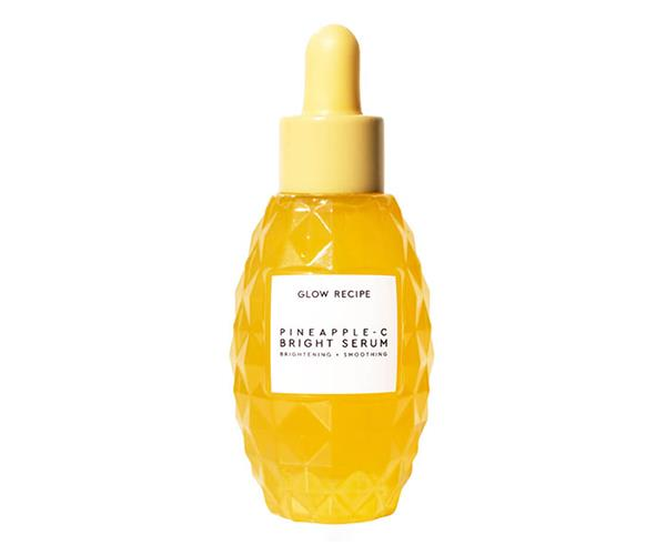 """**Pineapple-C Bright Serum, $75, [Glow Recipe at MECCA](https://www.mecca.com.au/glow-recipe/pineapple-c-bright-serum/I-040100.html