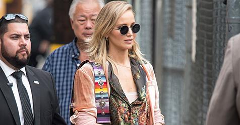 Jennifer Lawrence And Cooke Maroney's Matching Couples Style | ELLE Australia