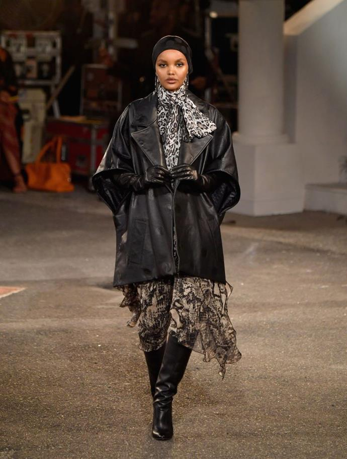 **The show had a stellar cast**<br><br>  One of the most inclusive runway shows we've seen in a while, the TommyXZendaya show featured an incredible lineup of models, including Halima Aden (pictured), Soojoo Park and Candice Huffine.