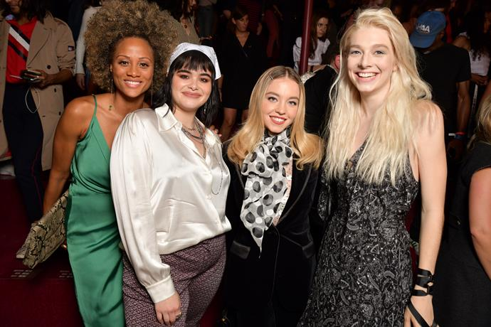 "**There was an exceptional guest list**<br><br>  Zendaya's [*Euphoria* cast mates](https://www.elle.com.au/culture/hbo-euphoria-controversial-scenes-20717|target=""_blank"") Barbie Ferreira, [Hunter Schafer](https://www.elle.com.au/fashion/hunter-schafer-style-21052