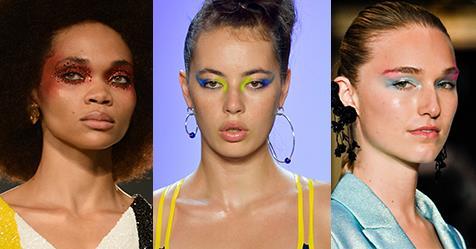 'Euphoria' Beauty Has Infiltrated New York Fashion Week | ELLE Australia
