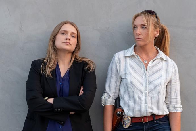 Merritt Wever and Toni Collette as detectives detectives Karen Duvall and Grace Rasmussen, respectively.
