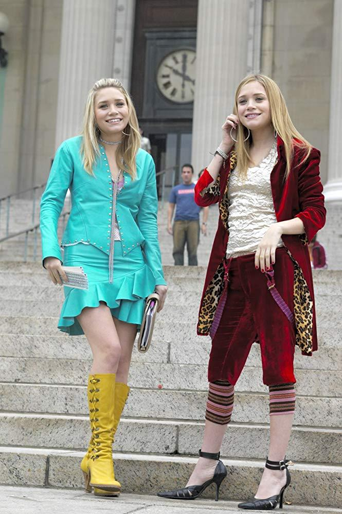 **The Olsen twins in *New York Minute* (2004)** <br><br> After a slew of arguably iconic direct-to-DVD movies, the Olsens starred in 2004's *New York Minute*, where they played fashion-savvy teens parading the streets of New York. <br><br> Yes, the fashion in *New York Minute* is questionable by today's standards, but Mary-Kate and Ashley's innate style quirk was a sign of things to come in real life. It also made us all want to own a beret, or several.