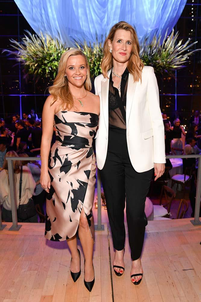 "***Laura Dern***<Br><br> No, it's not just standing next to 5'1"" Reese Witherspoon, Laura Dern is an impressive 5'10""."
