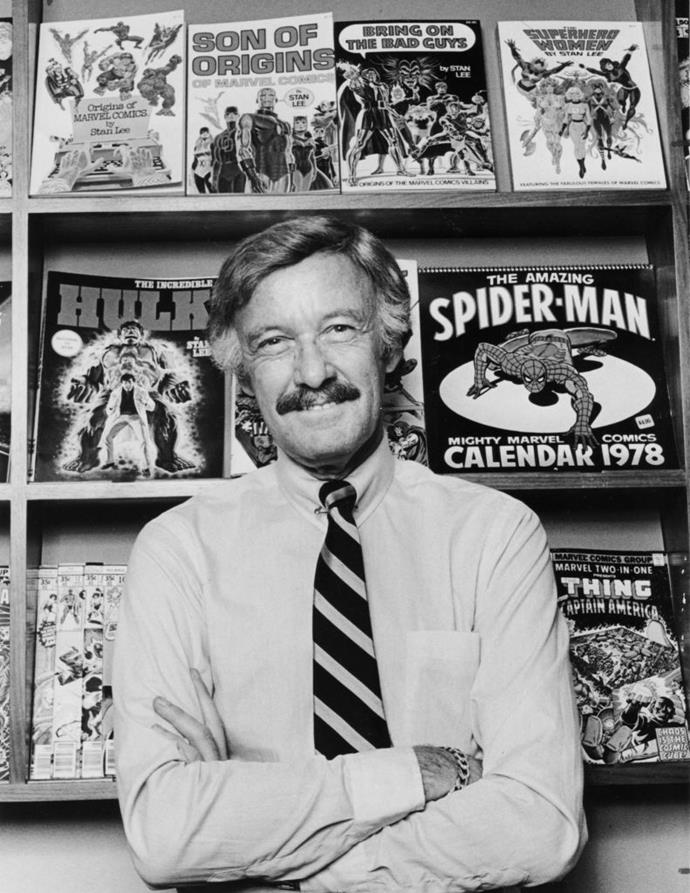 Stan Lee photographed in 1978.