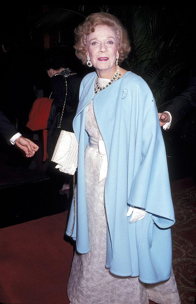 Brooke Astor at her 90th birthday party in 1992.