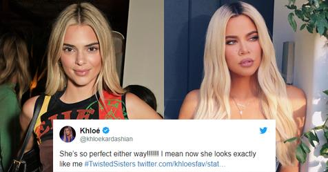 "Kendall Jenner's Savage Response To Khloé Kardashian Saying ""She Looks Exactly Like Me\"" 
