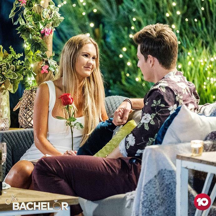 **Signs that Chelsie wins** ***The Bachelor*** **Australia**<br><br>  **Sign #1:** A lack of screen time towards the finale<br><br>  If there's one telltale sign to watch out for when determining a potential winner, it's screen time, according to 2018 *Bachelor* contestant, Brittany Hockley.<br><br>  While chemical engineer Chelsie gained some screen time early on (with her oxytocin tattoo and what-not), she's gradually been getting less and less. This was especially evident in her hometown visit, when the entire date portion of their trip was glossed over. We literally saw them meet, sit down at a cafe briefly and then go and meet her family. Odd.<br><br>  But don't take our word for it. Check out the video below of Brittany Hockely telling her fellow *Bachelor* alum Cass Wood her theory on screen time and possible winners.