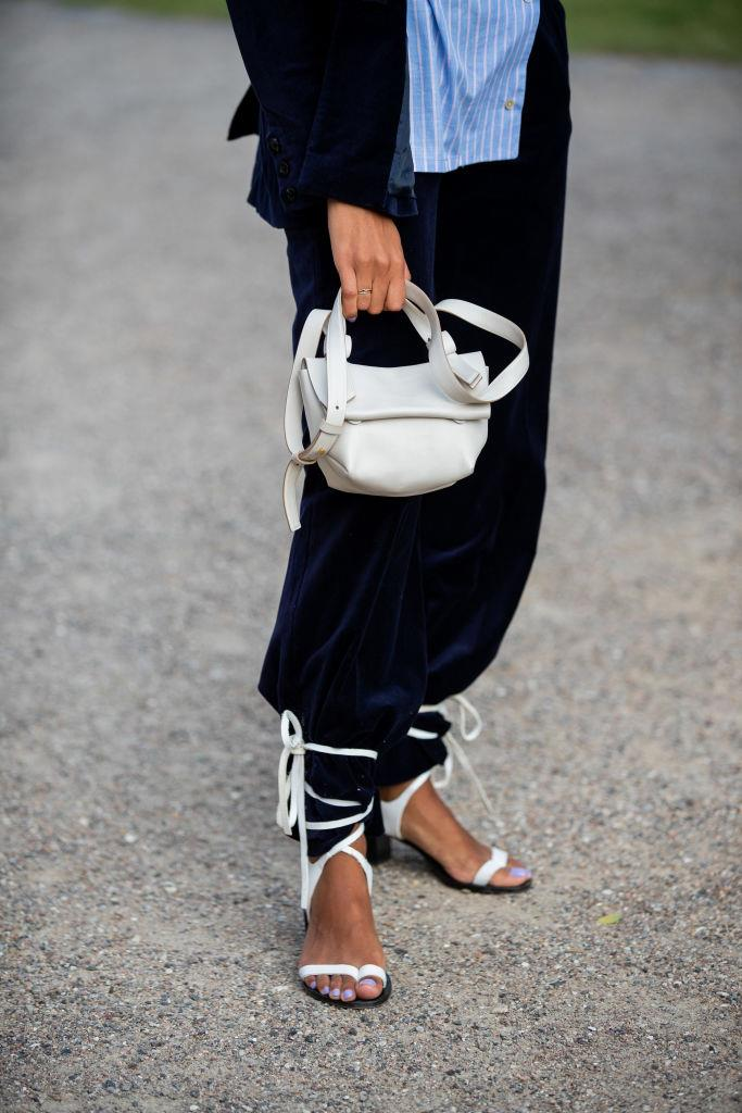 "Street-style at [Copenhagen Fashion Week](https://www.elle.com.au/fashion/copenhagen-fashion-week-2019-street-style-trends-21008|target=""_blank"") on August 7, 2019. <br><br> *Image: Getty*"