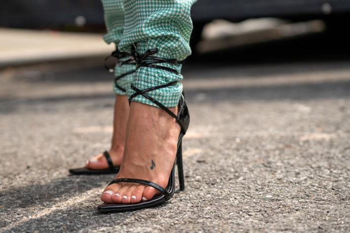 Street style at New York Fashion Week on September 9, 2019. <br><br> *Image: Getty*