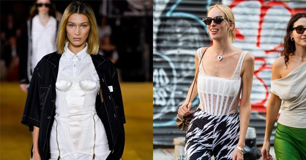 Corset Trend 2019: Why 'Little Women' Style Is Back On-Trend | ELLE Australia