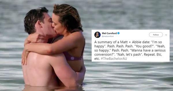 Bachelor Australia: Best Memes About Abbie & Matt's Beach Date | ELLE Australia