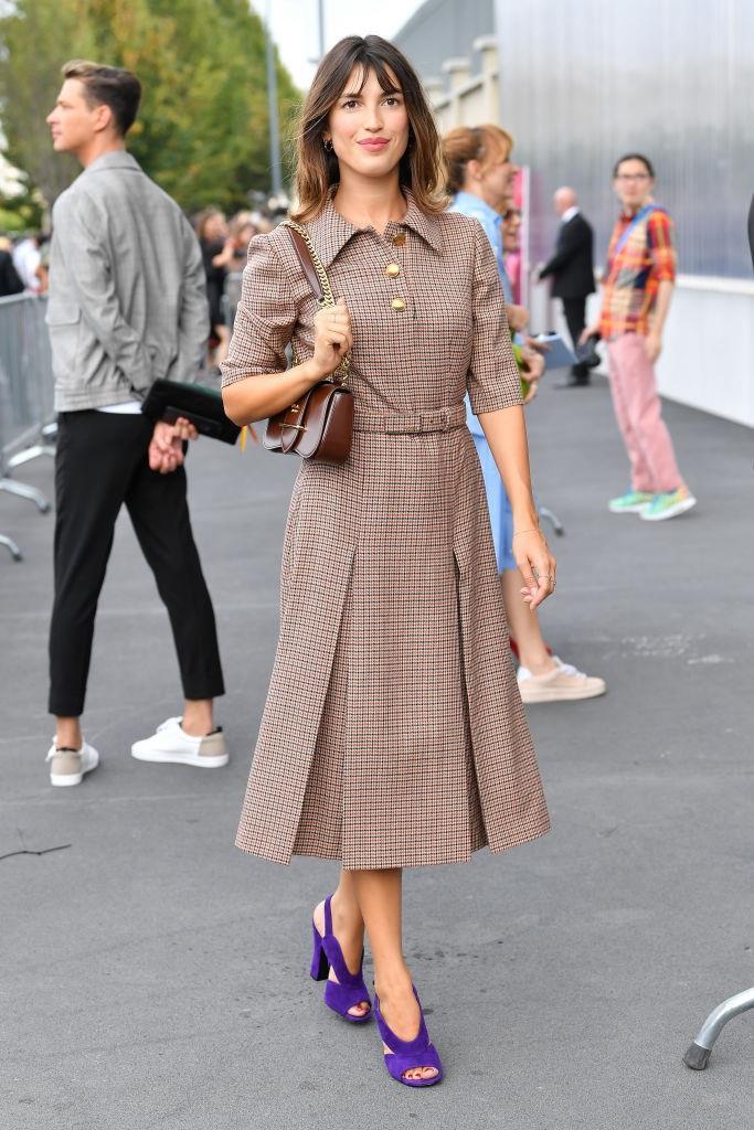 Jeanne Damas at Prada.