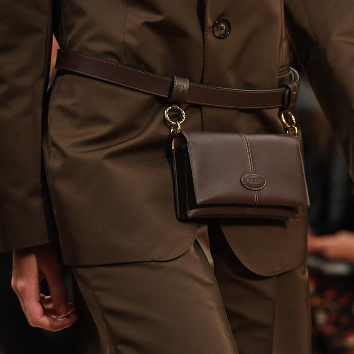 Bags at Tod's spring/summer '20.