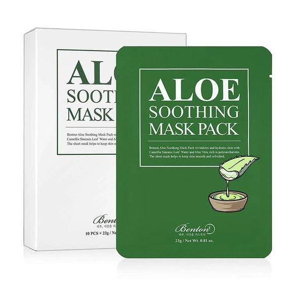 "**Benton Aloe Soothing Mask Pack, $4 from [Nudie Glow](https://nudieglow.com/products/benton-aloe-soothing-mask-pack|target=""_blank""