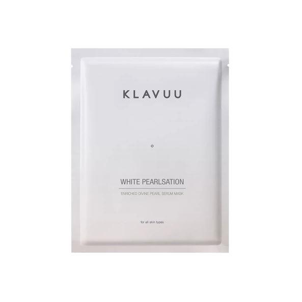 "**Klavuu White Pearlsation Pearl Serum Mask, $12 from [Nudie Glow](https://nudieglow.com/products/klavuu-white-pearlsation-pearl-serum-mask|target=""_blank""