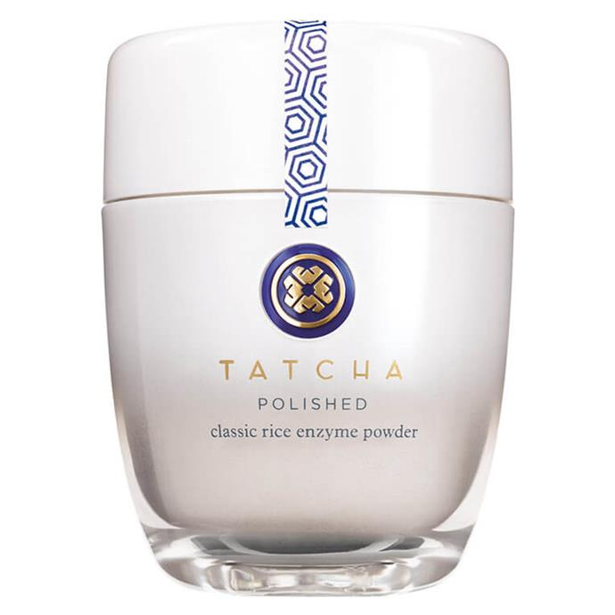 """**Tatcha Polished Classic Rice Enzyme Powder, $99 at [MECCA](https://www.mecca.com.au/tatcha/the-rice-polish-classic-foaming-enzyme-powder/I-033169.html