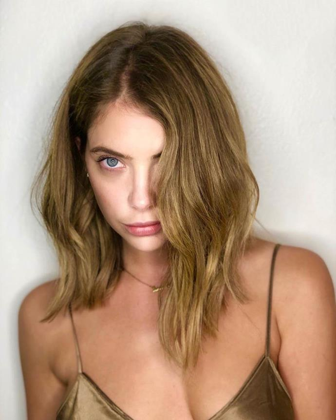 "**The lob:** The [ultimate haircut](https://www.harpersbazaar.com.au/beauty/long-bob-haircut-2019-18429|target=""_blank"") for those too nervous to go super-short, this grown-out bob is best worn longer at the front, angling up slightly to the back of the hair. Celebrity fans include Rosie Huntington-Whiteley, Candice Swanepoel and Ashley Benson (pictured)."