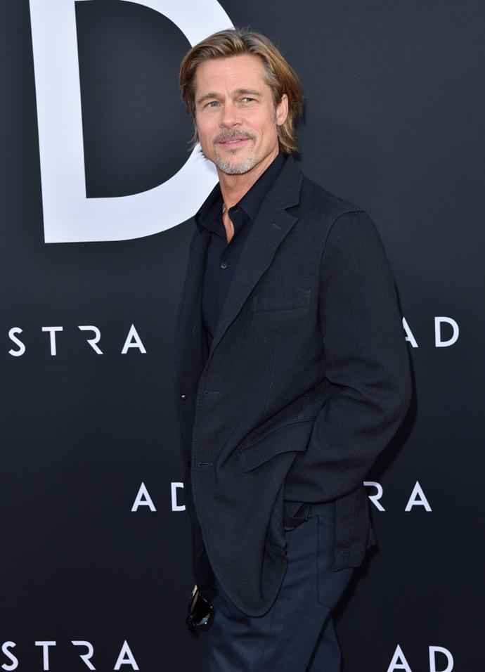 "**Brad Pitt**<br><br>  The [*Once Upon A Time In Hollywood*](https://www.elle.com.au/culture/once-upon-a-time-in-hollywood-cast-20216|target=""_blank""