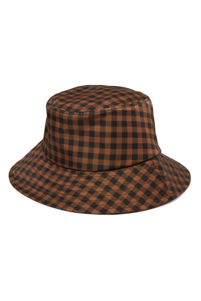 "***A bucket hat***<br><br> Hat by Loeffler Randall, $76 at [NET-A-PORTER](https://www.net-a-porter.com/au/en/product/1178789/loeffler_randall/ivy-checked-twill-bucket-hat|target=""_blank""