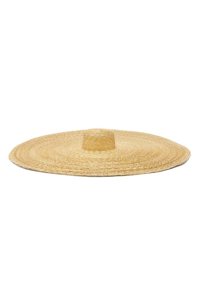 "***An oversized hat***<br><br> Hat by Eliurpi, approx. $914 at [MATCHESFASHION.COM.](https://www.matchesfashion.com/products/Eliurpi-Le-Grand-oversized-natural-straw-hat-1289204|target=""_blank""