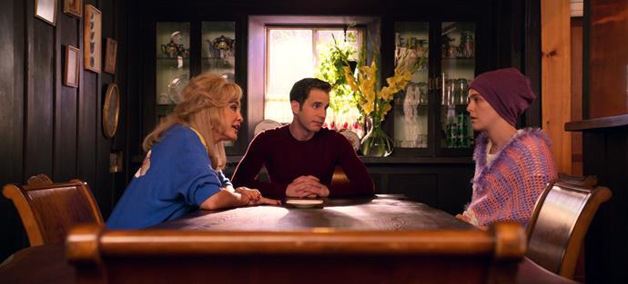 Jessica Lange, Ben Platt and Zoey Deutch in *The Politician*.