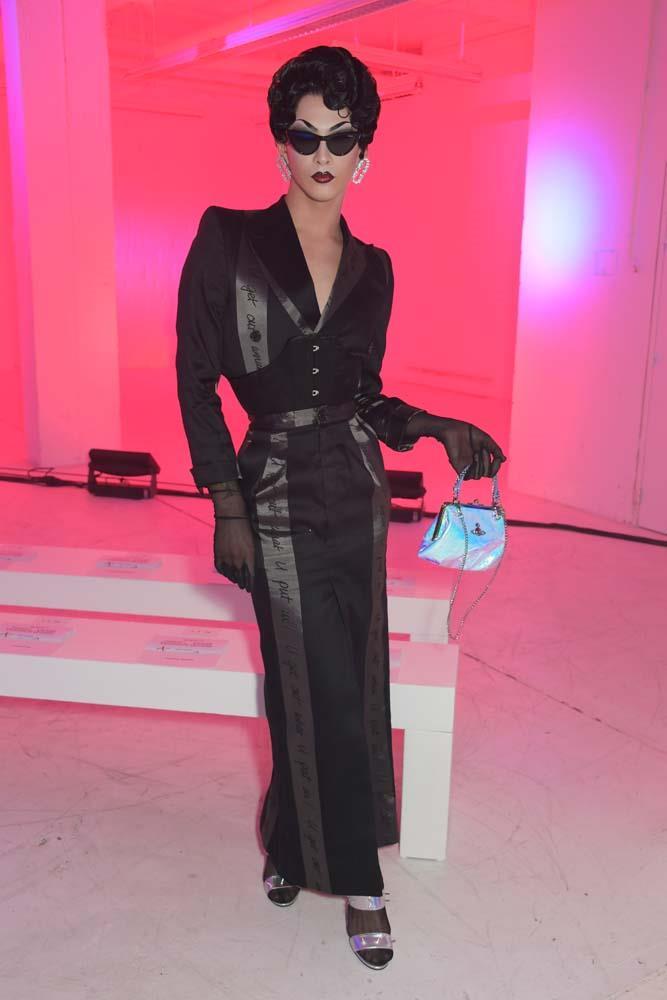 Violet Chachki at Andreas Kronthaler For Vivienne Westwood.