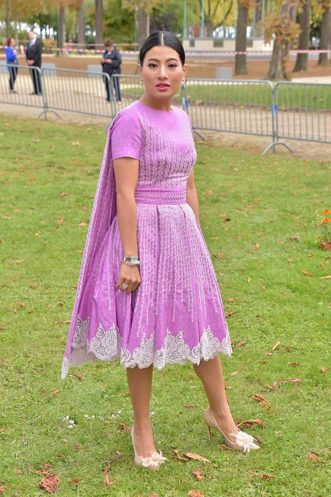 Princess Sirivannavari Nariratana of Thailand at Elie Saab.